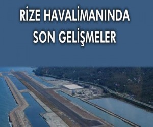 Rize Havalimanı 'nda denize 14,5 milyon ton taş döküldü