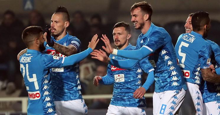 Napoli, Engebeli Atalanta Deplasmanından 3 Puanla Döndü!