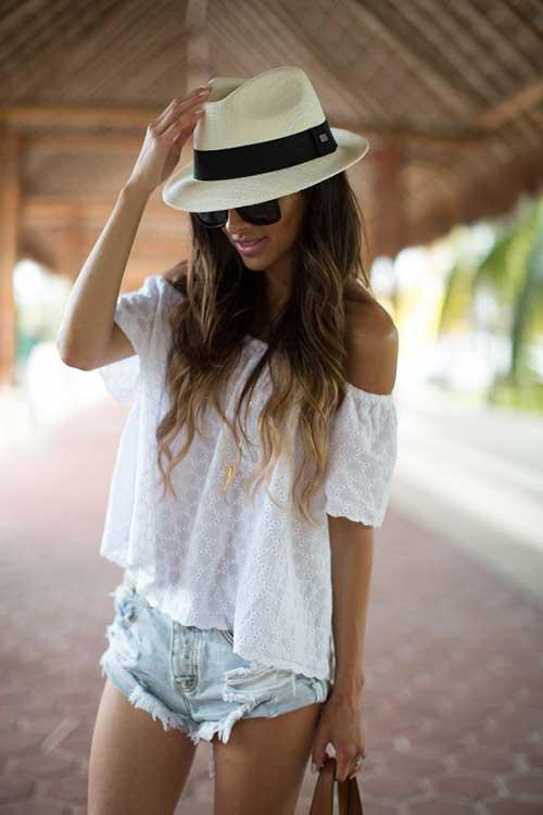 Yaz için Şapka Modelleri-11