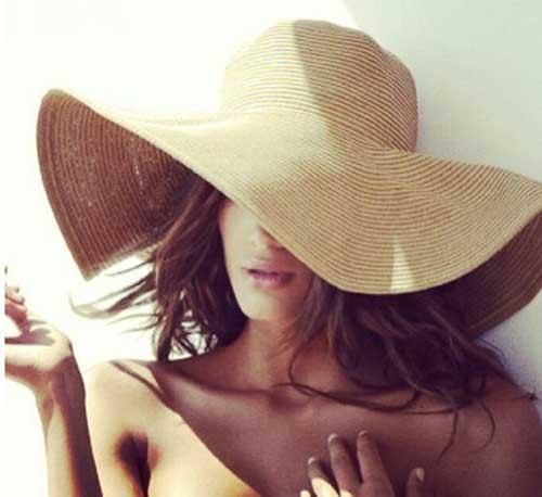Yaz için Şapka Modelleri-12