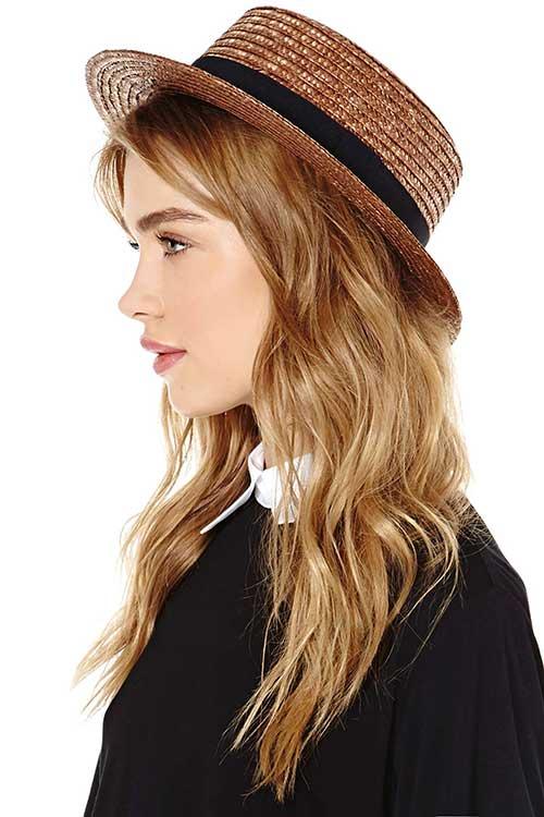 Yaz için Şapka Modelleri-14