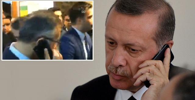 Rize Valisi Canlı Yayında Tanımlama Yaparken, Cumhurbaşkanı Erdoğan Aradı