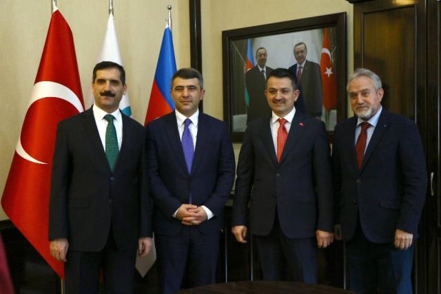 Tarım ve Orman Bakanı Pakdemirli Azerbaycan'da