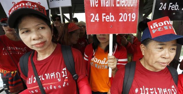 Tayland Seçime Gidiyor
