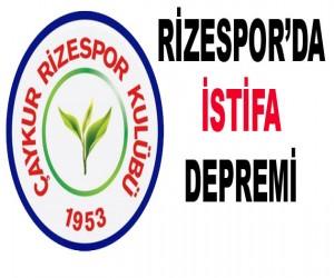 Rizespor 'da İstifa depremi. 2 İsim daha Bıraktı.