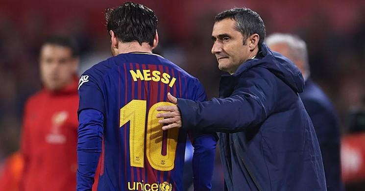 Valverde 'den Messi Kararına Tepki!