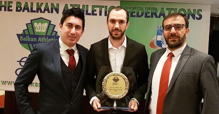 'Yılın Atleti ' Ödülü Ramil Guliyev 'in!