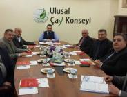 Ulusal Çay Konseyi Idare Heyeti Toplantısı
