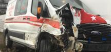Rize'de Ambulans Kazası 3 Yaralı